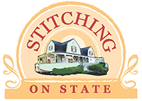 Stitching On State Logo